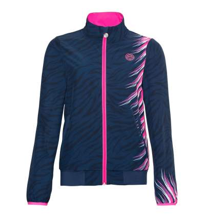 G198021202-DBLPK BIDI BADU PIPER TECH JACKET dark blue, pink