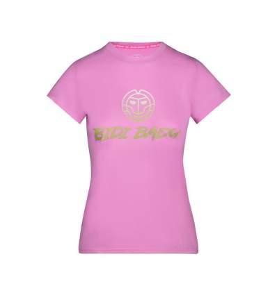 G358067212-RO BIDI BADU Chinara Basic Logo Tee - rose