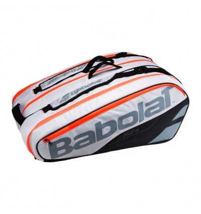 Racket Holder Babolat Pure White x12