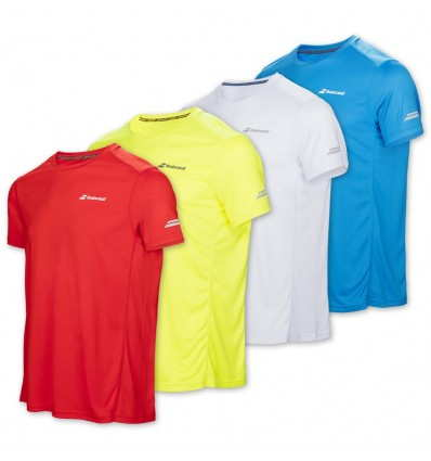 Tricou Babolat Core Flag Club Baiat