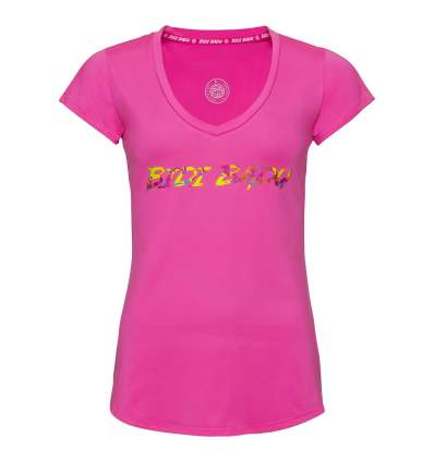 W354007192-PK BIDI BADU BAYA BASIC LOGO TEE pink